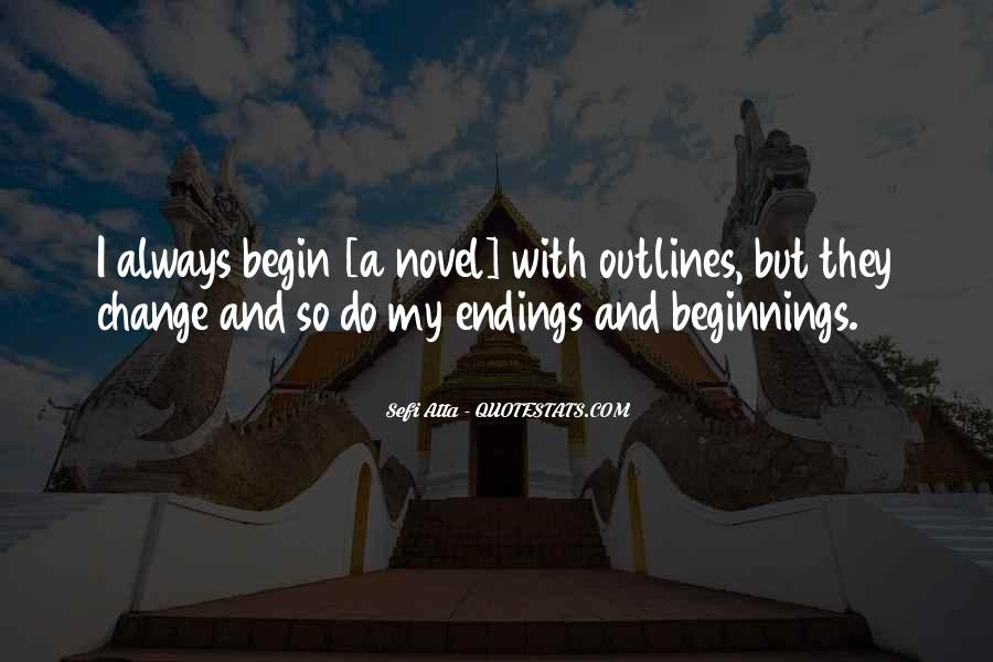 Quotes About Outlines #188295
