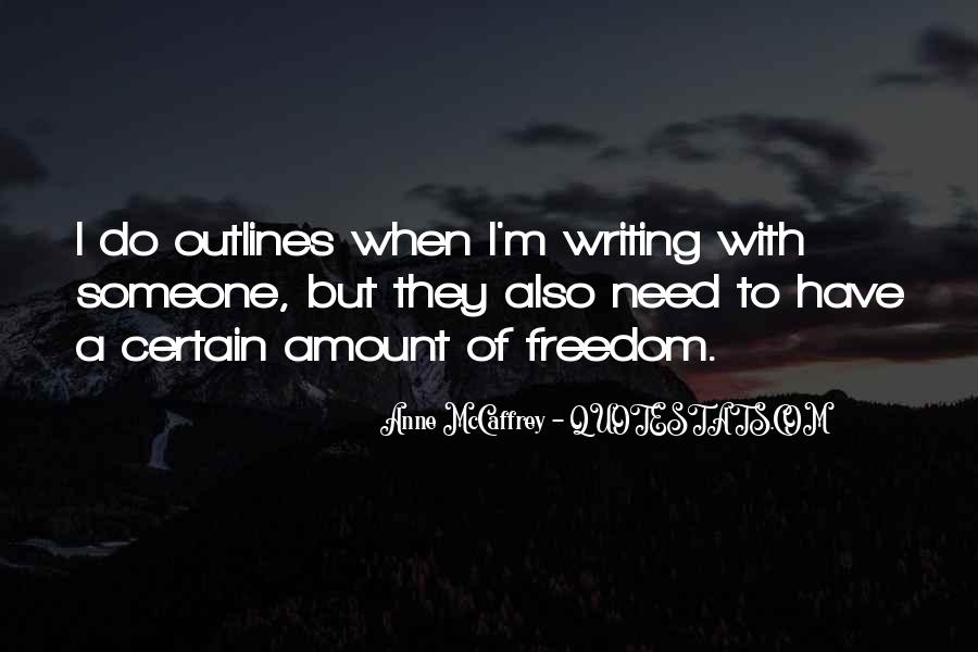 Quotes About Outlines #474015