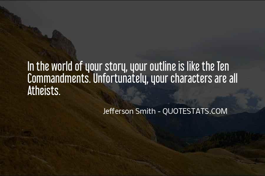 Quotes About Outlines #548169