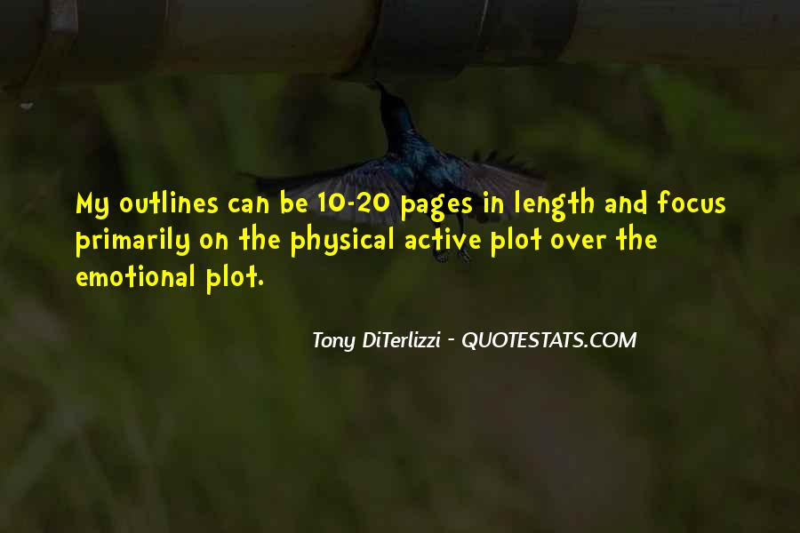 Quotes About Outlines #730626