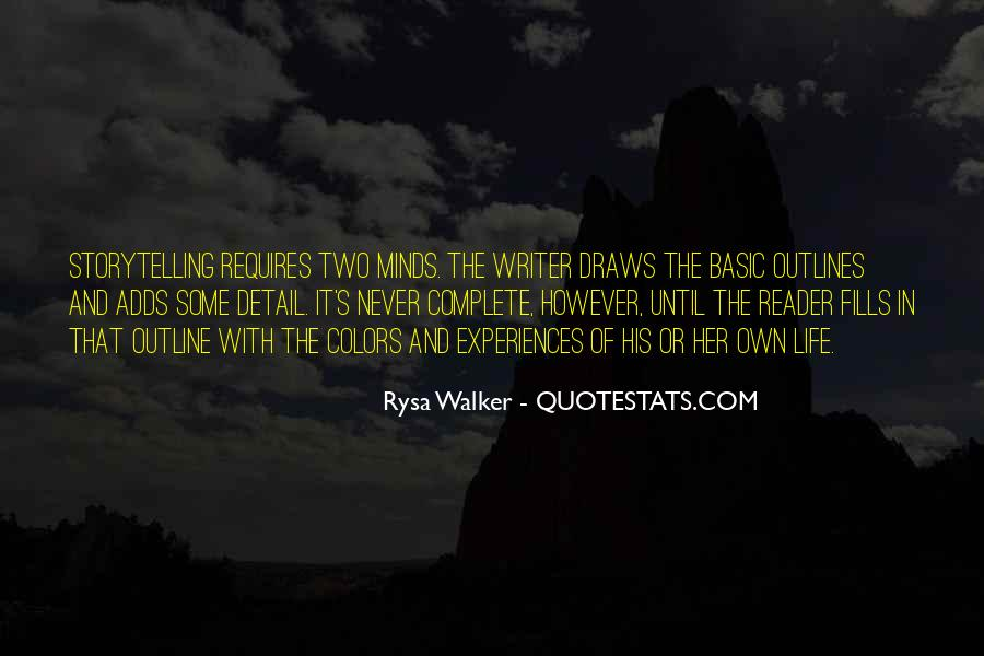 Quotes About Outlines #965268