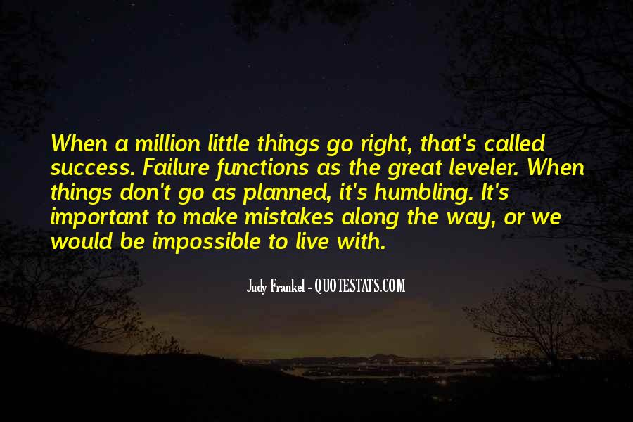 Quotes About When Things Don't Go As Planned #1683553