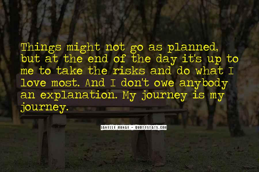 Quotes About When Things Don't Go As Planned #212611