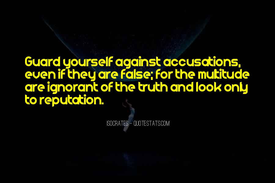 Quotes About False Truth #205591
