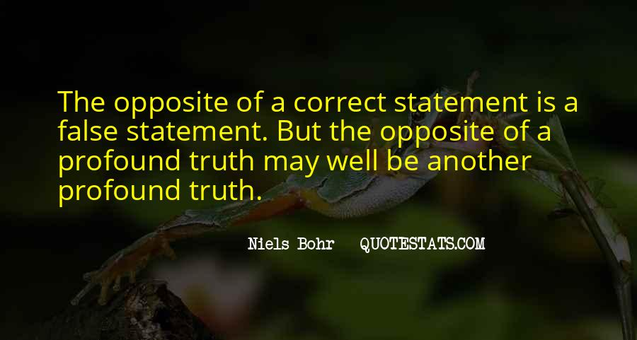 Quotes About False Truth #219483