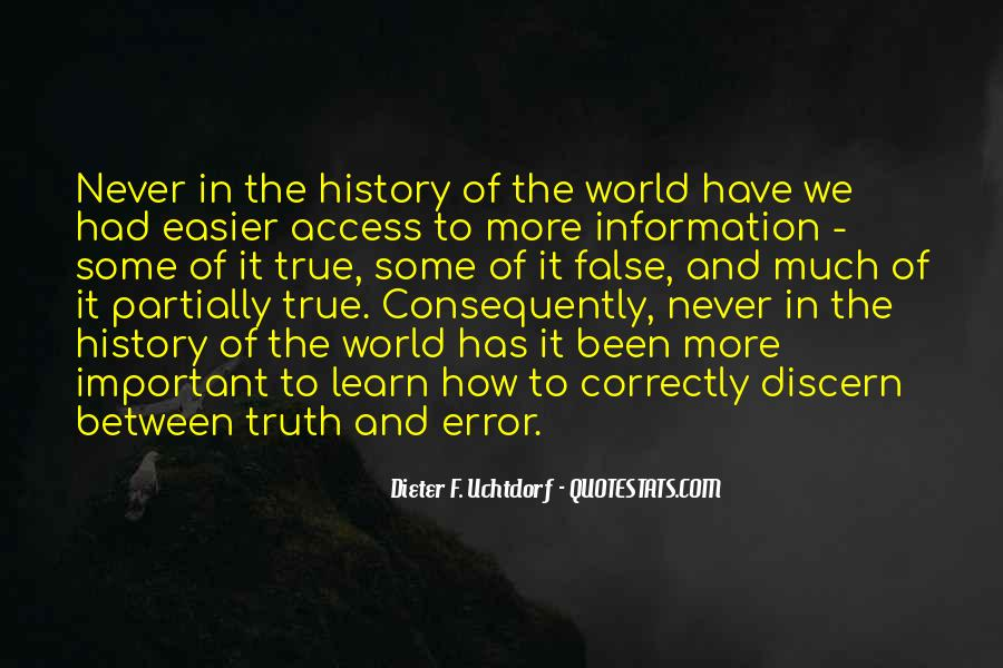 Quotes About False Truth #256923