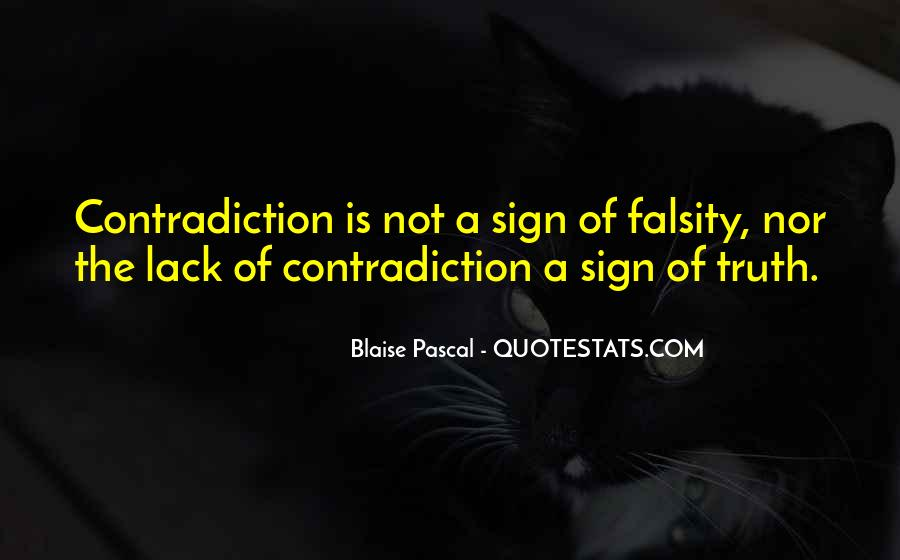 Quotes About False Truth #269355