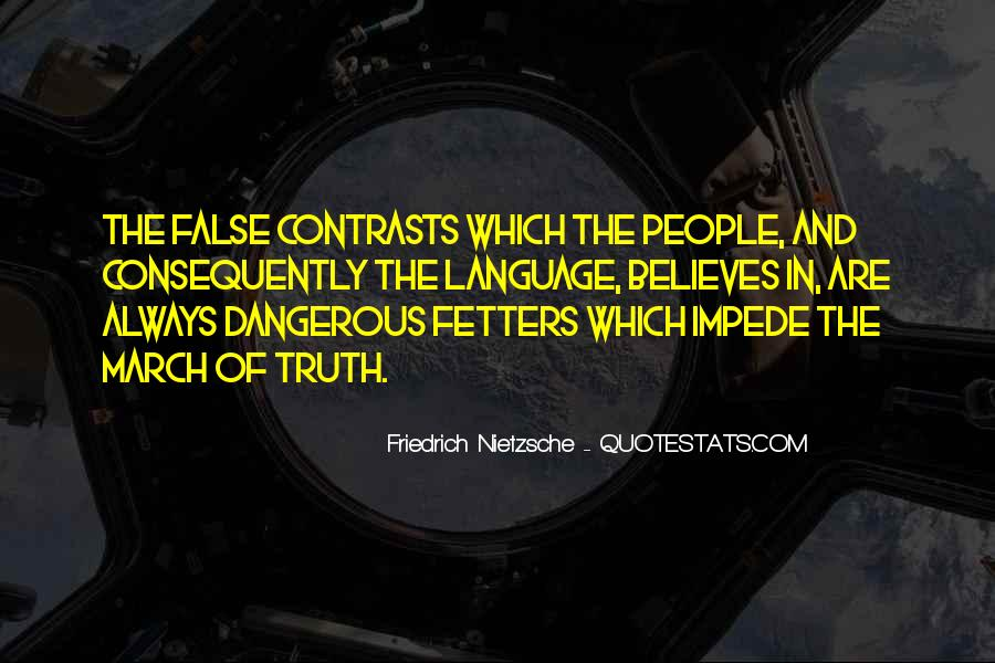 Quotes About False Truth #395907