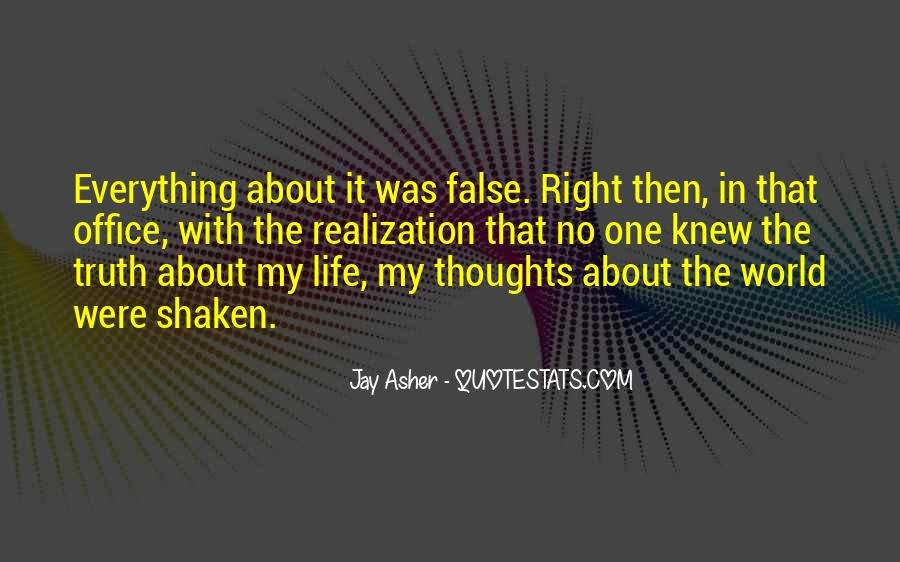 Quotes About False Truth #571523