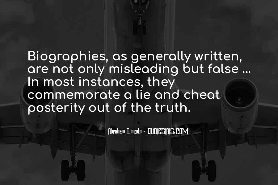Quotes About False Truth #573740