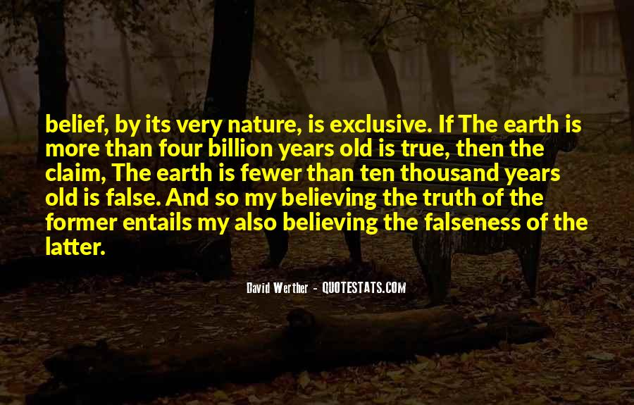 Quotes About False Truth #58131