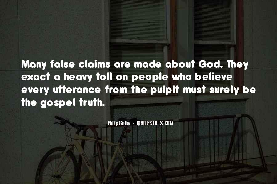 Quotes About False Truth #612144