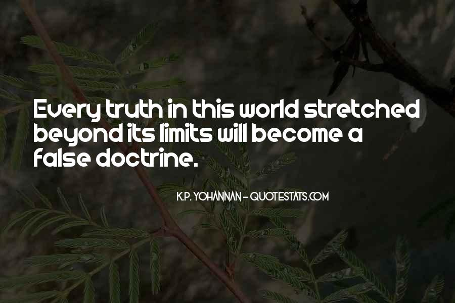 Quotes About False Truth #9474