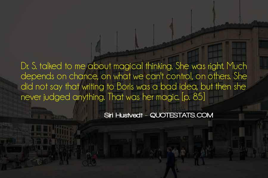 Quotes About Thinking You Had A Chance #117255