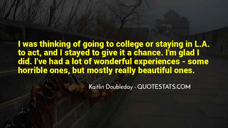Quotes About Thinking You Had A Chance #130701