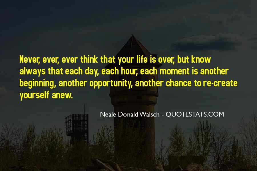 Quotes About Thinking You Had A Chance #260819