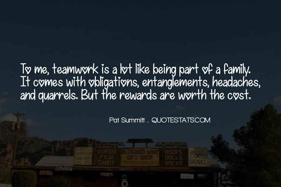 Quotes About Team And Family #1131669