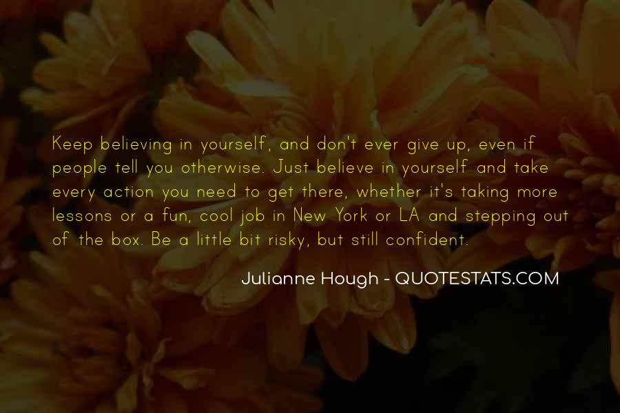 Quotes About Stepping Outside Of Your Box #1218305