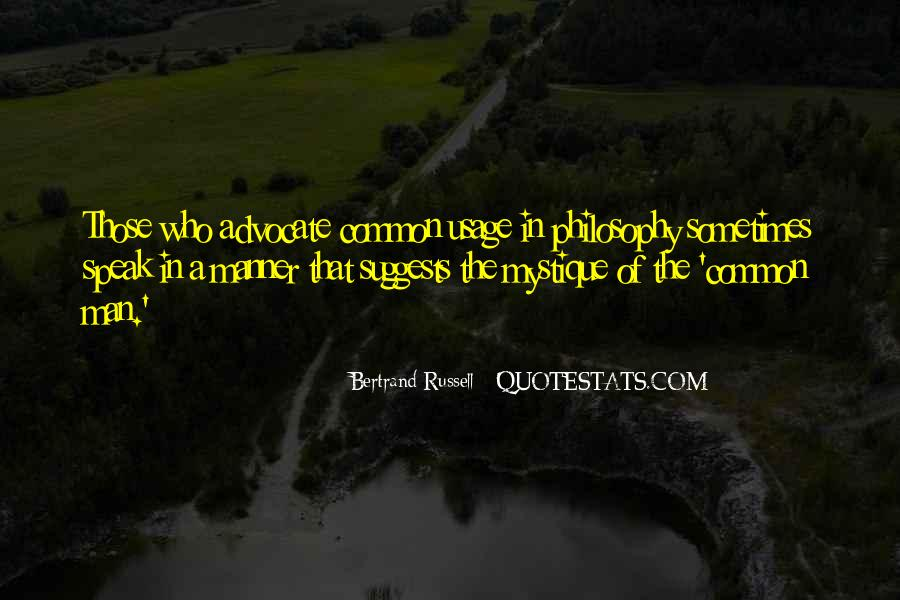 Quotes About Usage #163435