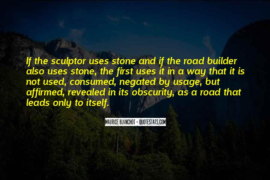 Quotes About Usage #163925