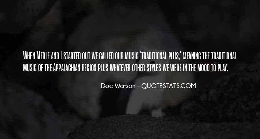 Quotes About Appalachian Music #1703833