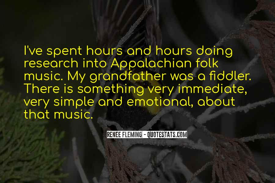 Quotes About Appalachian Music #369020
