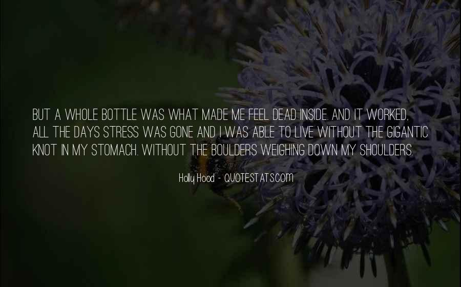 Quotes About Inside Sadness #1021106