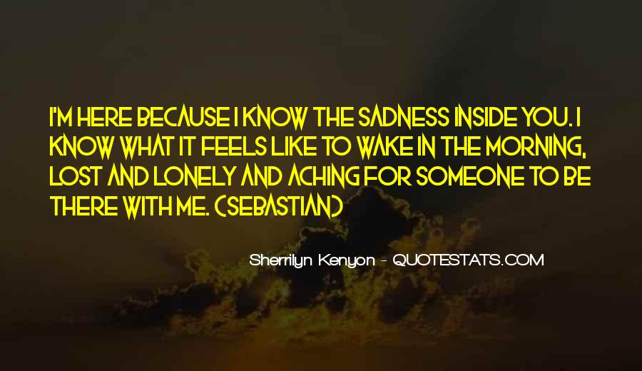 Quotes About Inside Sadness #1175831