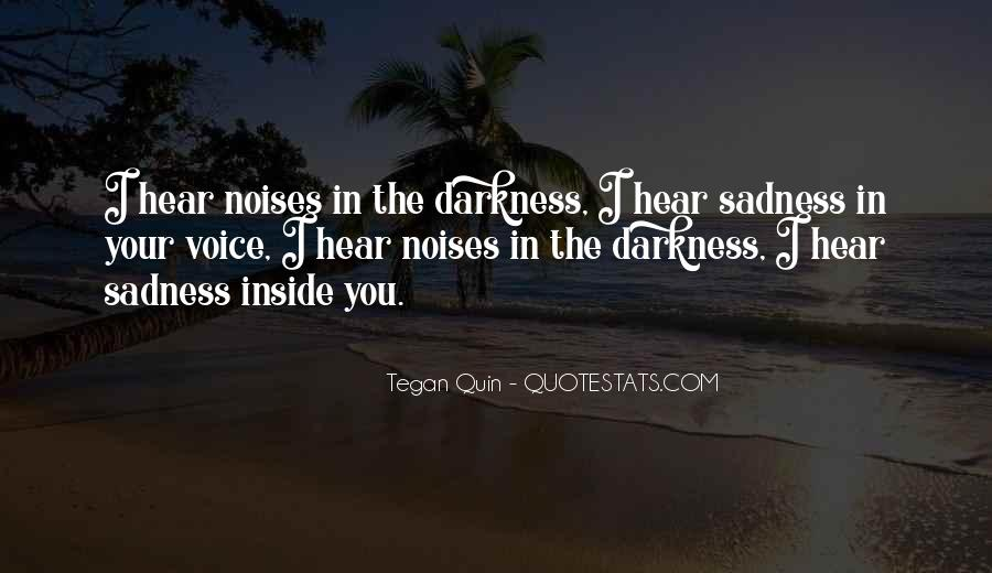 Quotes About Inside Sadness #156304