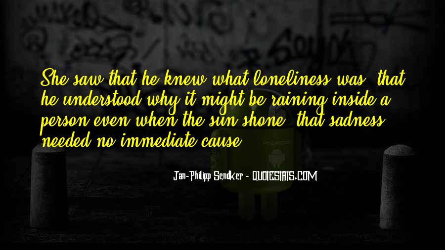 Quotes About Inside Sadness #1590103
