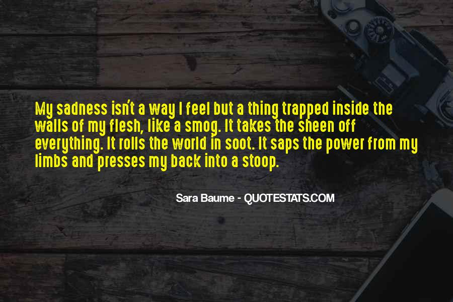 Quotes About Inside Sadness #1859863