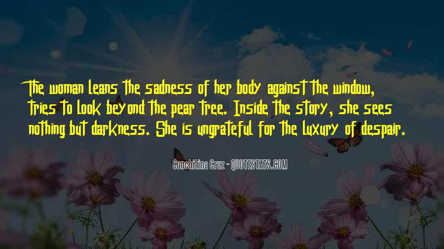 Quotes About Inside Sadness #1859875