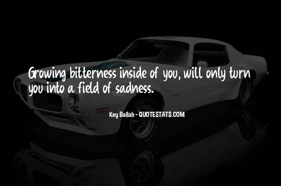 Quotes About Inside Sadness #244940