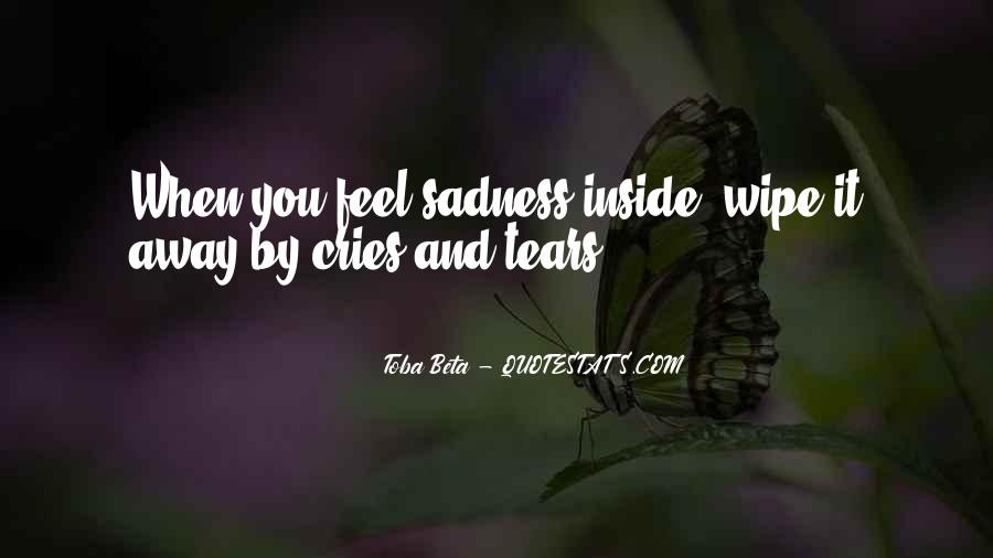 Quotes About Inside Sadness #282372