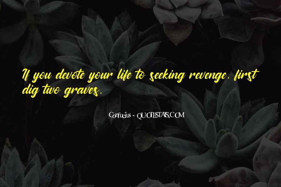 Quotes About Revenge Confucius #1416367