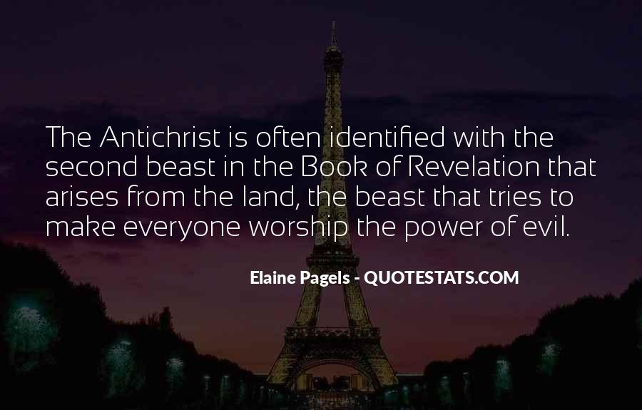 Quotes About Revelation The Antichrist #488456