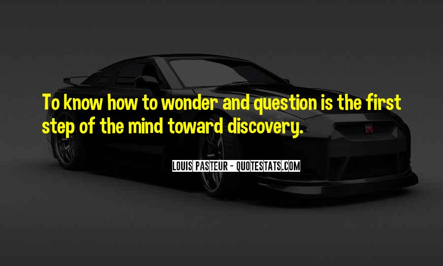 Quotes About Curiosity And Wonder #1081276