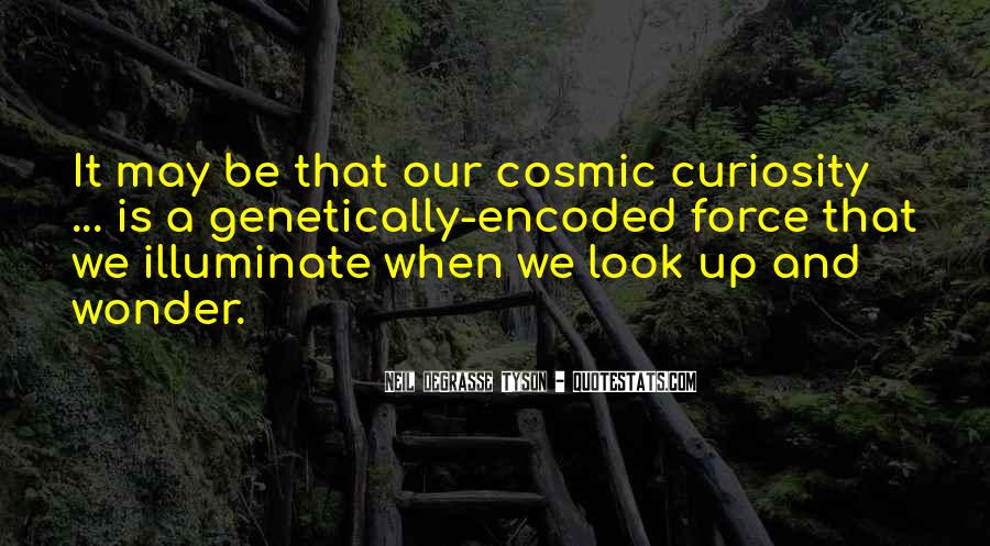 Quotes About Curiosity And Wonder #1119390