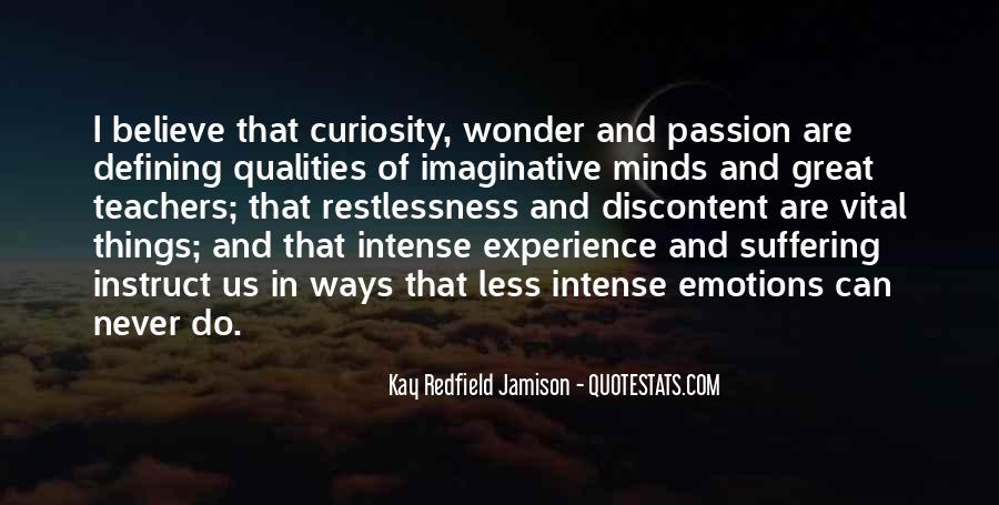 Quotes About Curiosity And Wonder #1623399
