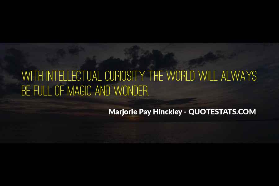 Quotes About Curiosity And Wonder #787384