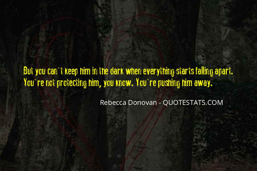 Quotes About Falling Away #1102313