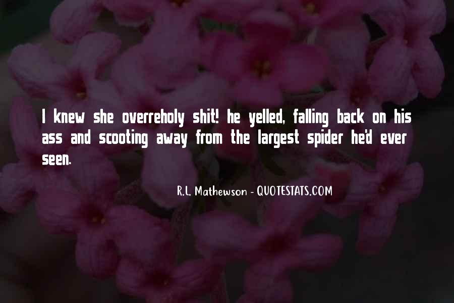 Quotes About Falling Away #1540482