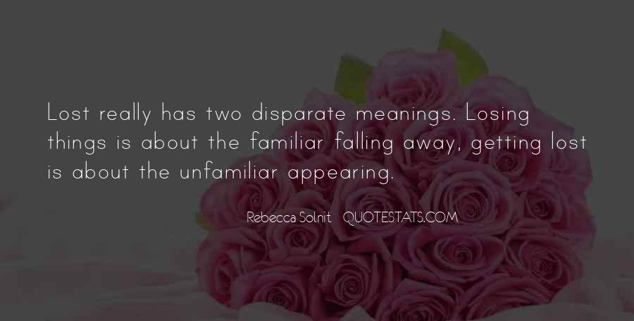 Quotes About Falling Away #1568288