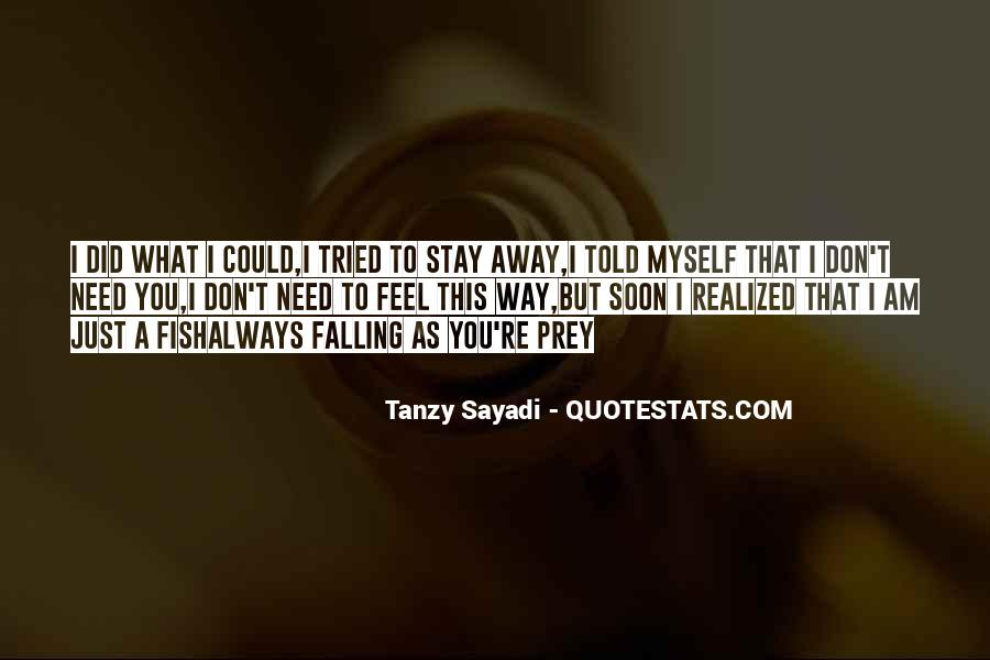 Quotes About Falling Away #468676