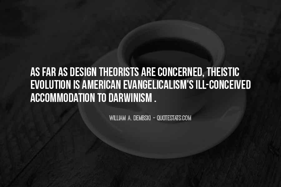 Quotes About Theistic Evolution #574569
