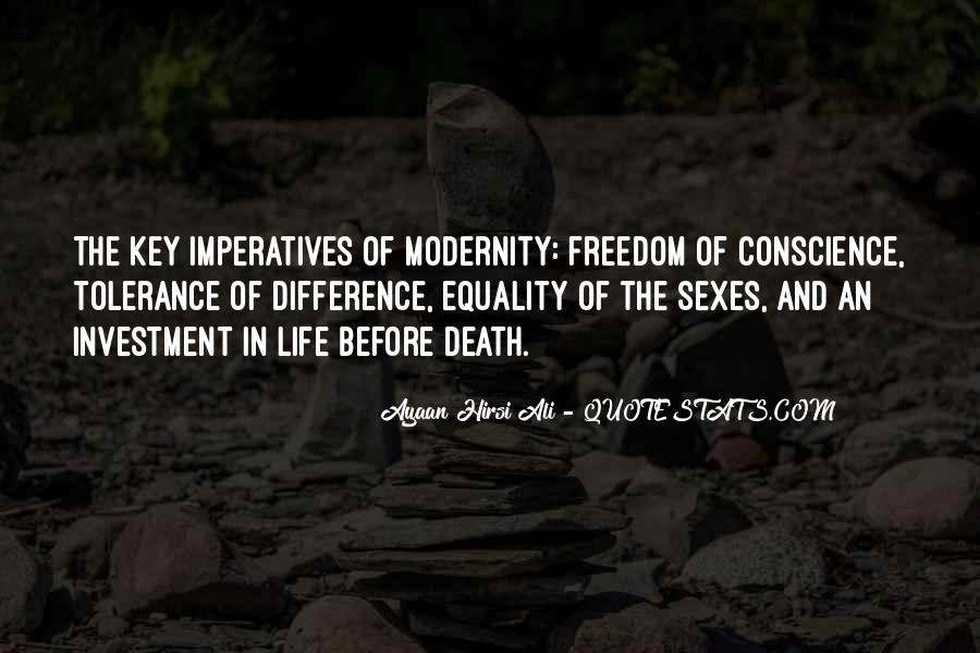 Quotes About Conscience And Freedom #1164369
