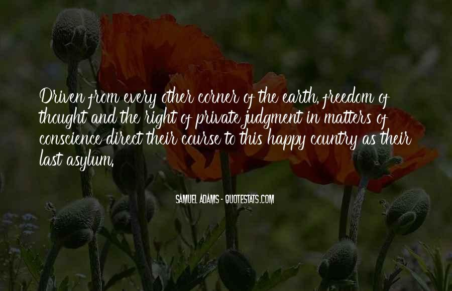 Quotes About Conscience And Freedom #1242289