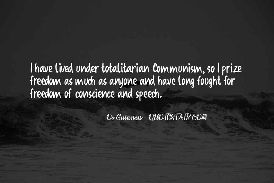 Quotes About Conscience And Freedom #1338019