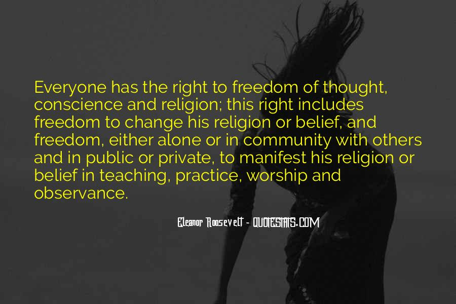 Quotes About Conscience And Freedom #1471398