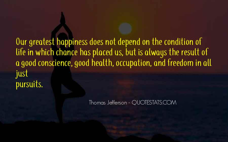 Quotes About Conscience And Freedom #1538054